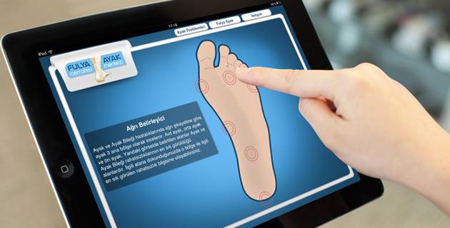 Ayağınızdaki ağrıya mobil çözüm