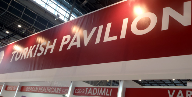 Almanya'nın Düsseldorf kentinde düzenlenen MEDICA sağlık fuarına Türkiye'den 104 firma katıldı.