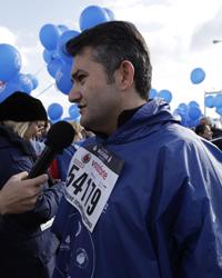 Lilly İlaç Türkiye Genel Müdürü Kadir Tepebaşı, Avrasya Maratonu