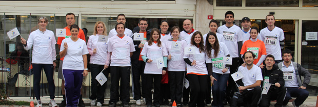 Sanofi Grubu Türkiye çalışanları obeziteye karşı koştu