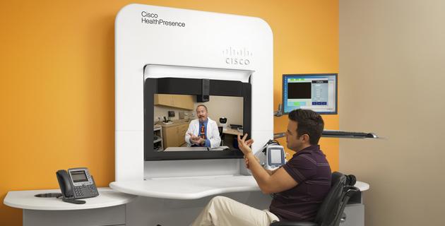 Cisco TelePresence ile eczanelerde doktor danışmanlığı hizmeti