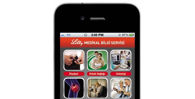 Lilly'den akıllı telefonlar için medikal bilgi uygulaması