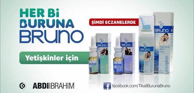 Abdi İbrahim, Bruno markası altında sunduğu burun bakım sağlığı ürünleri ile büyümeye devam ediyor.