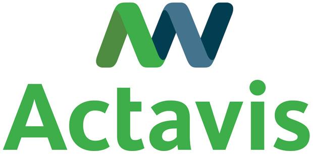 Actavis'in yeni logosu