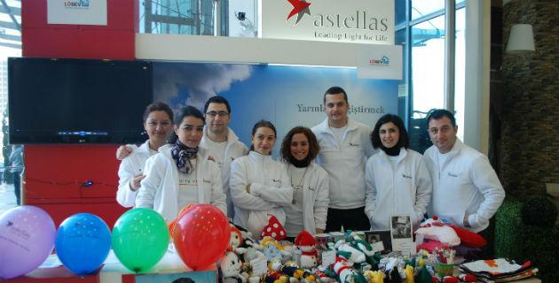 Astellas İlaç sosyal sorumluluk projelerine hız kesmeden devam ediyor